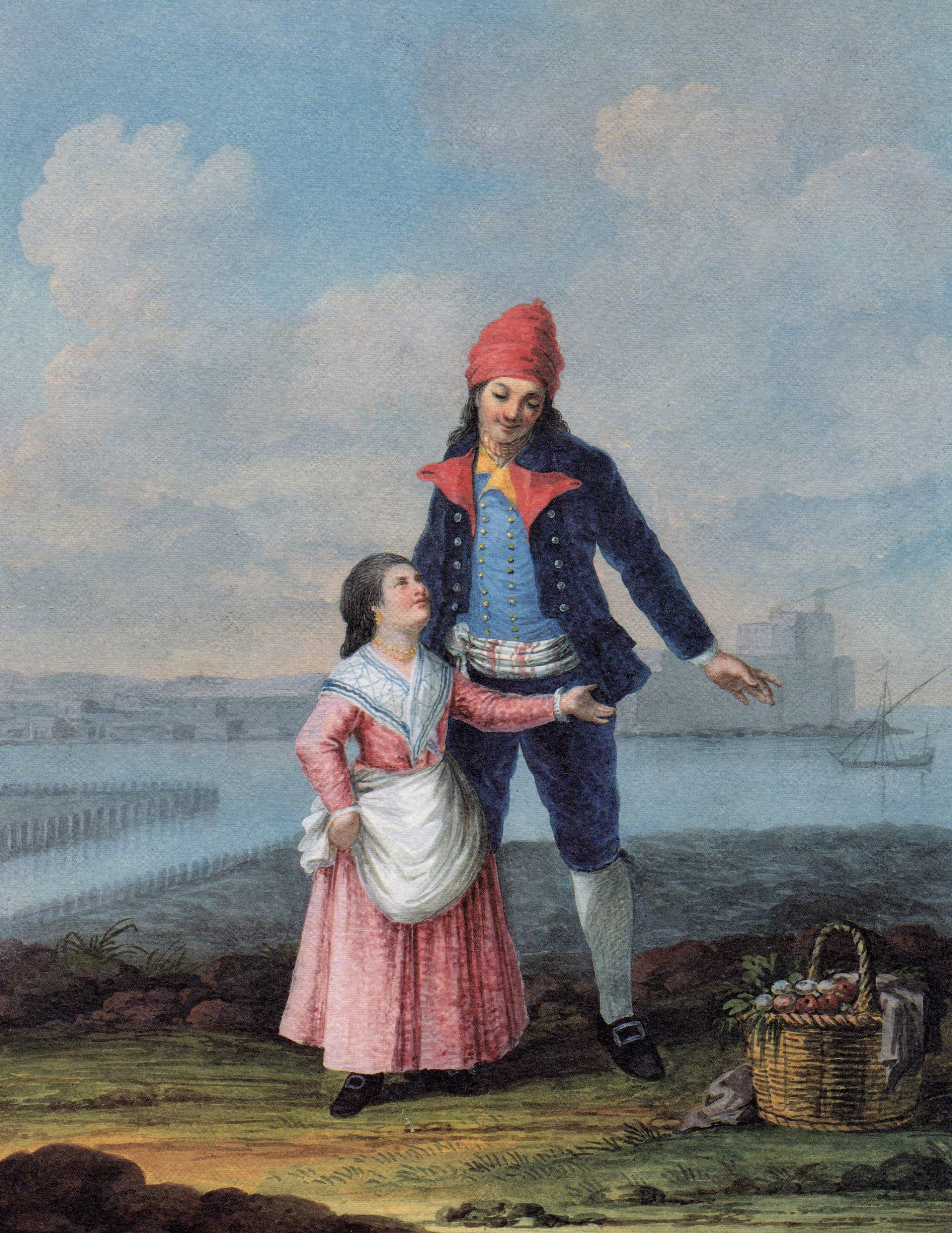 Un matrimonio del 1800!