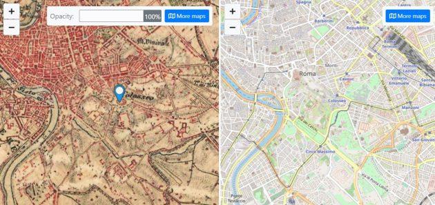 Google maps dei nostri antenati